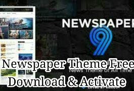 newspaper theme for wordpress