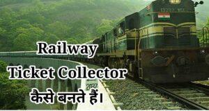 railway ticket collector