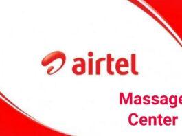 airtel sms center number
