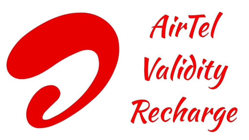 airtel validity recharge