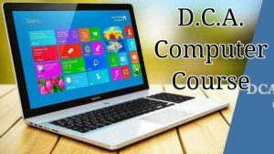 DCA Computer Course in Hindi