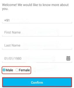 paytm personal details