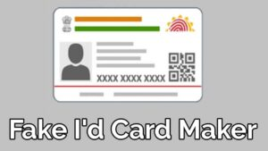 Fake Government ID Card Maker