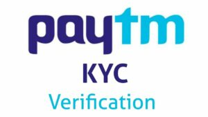 PayTM KYC Verification