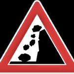 Falling Rocks signal