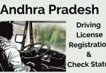 AP Transport Learner's Licence (LLR)